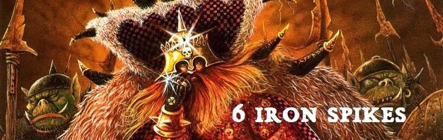 6 iron spikes