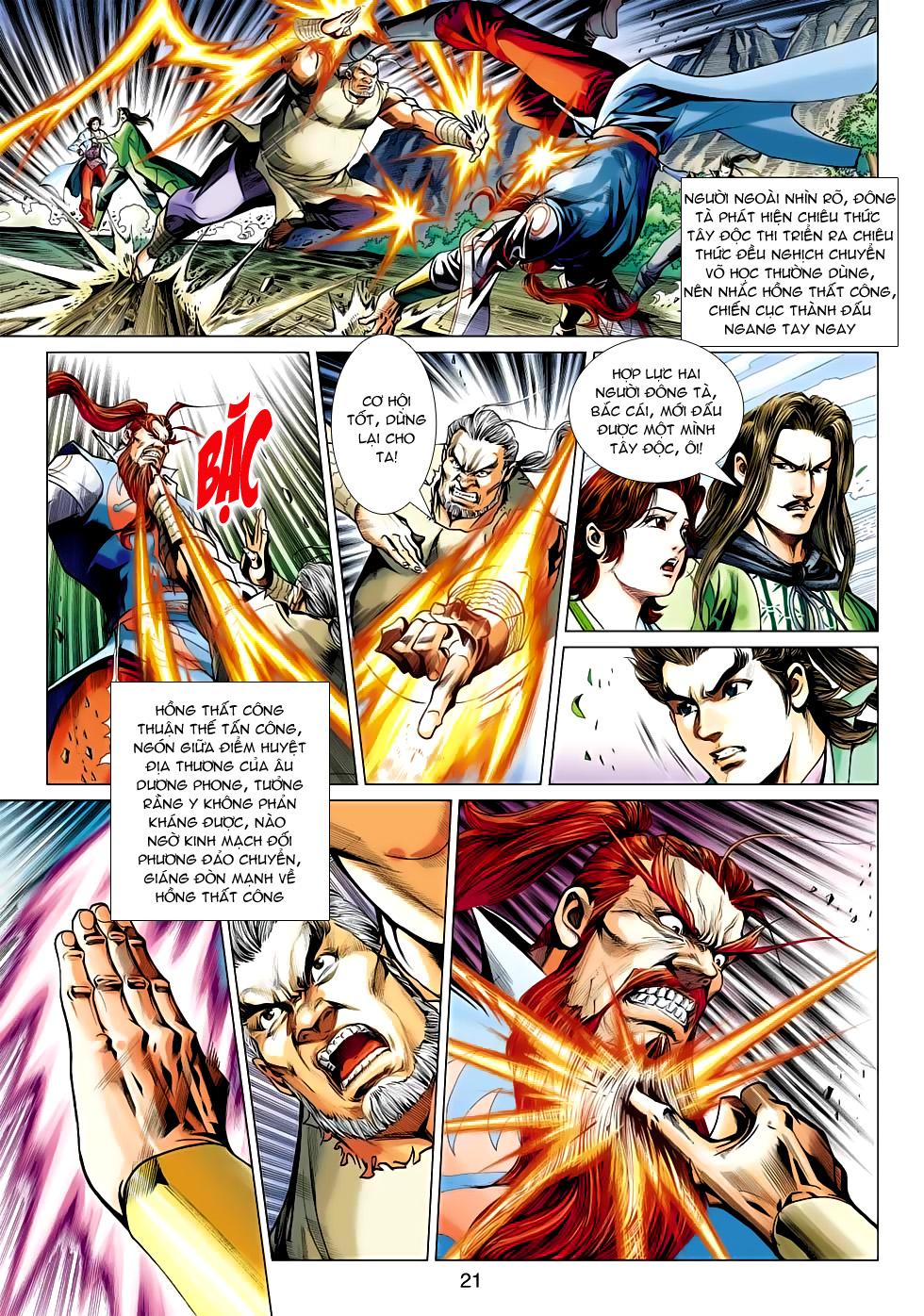 Xạ Điêu Anh Hùng Truyện chap 100 – End Trang 21 - Mangak.info