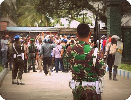 Oknum Anggota TNI Mabuk Tembak Warga Karena Dikeroyok
