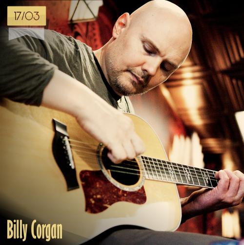 17 de marzo | Billy Corgan - @Billy | Info + vídeos