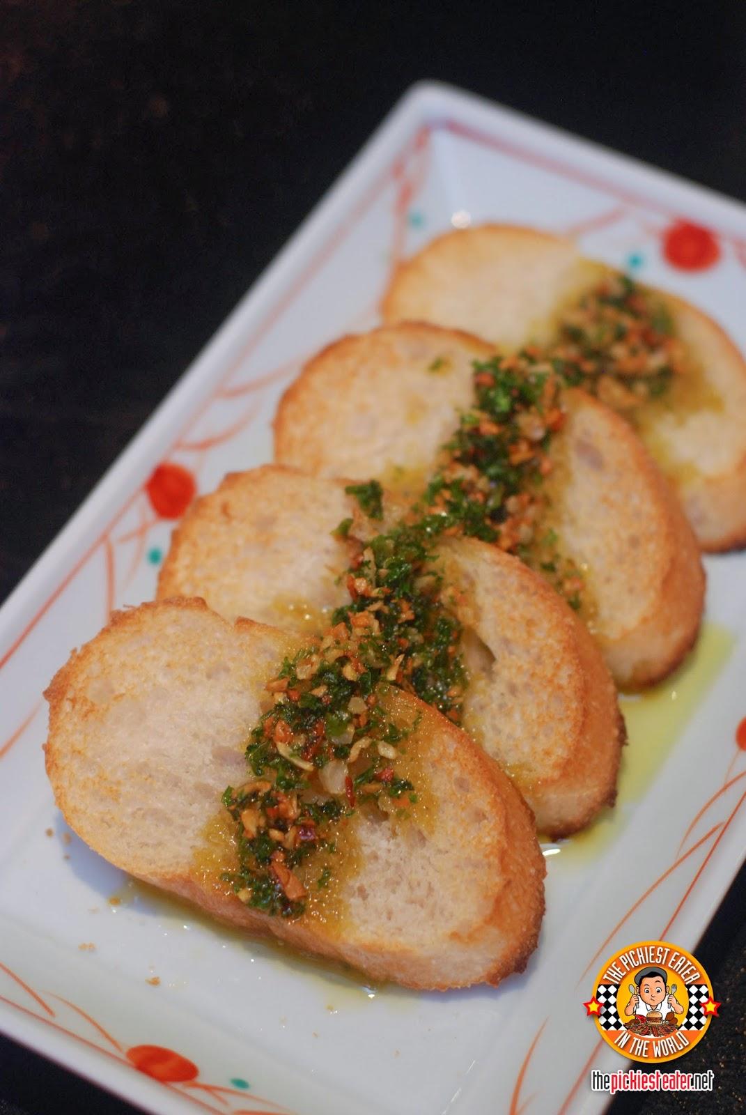 goemon garlic toast