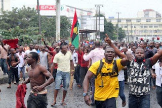 Biafra protests
