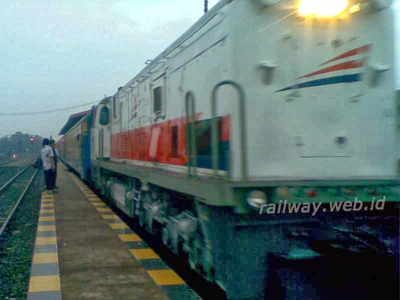 Operasi di kereta api KRD