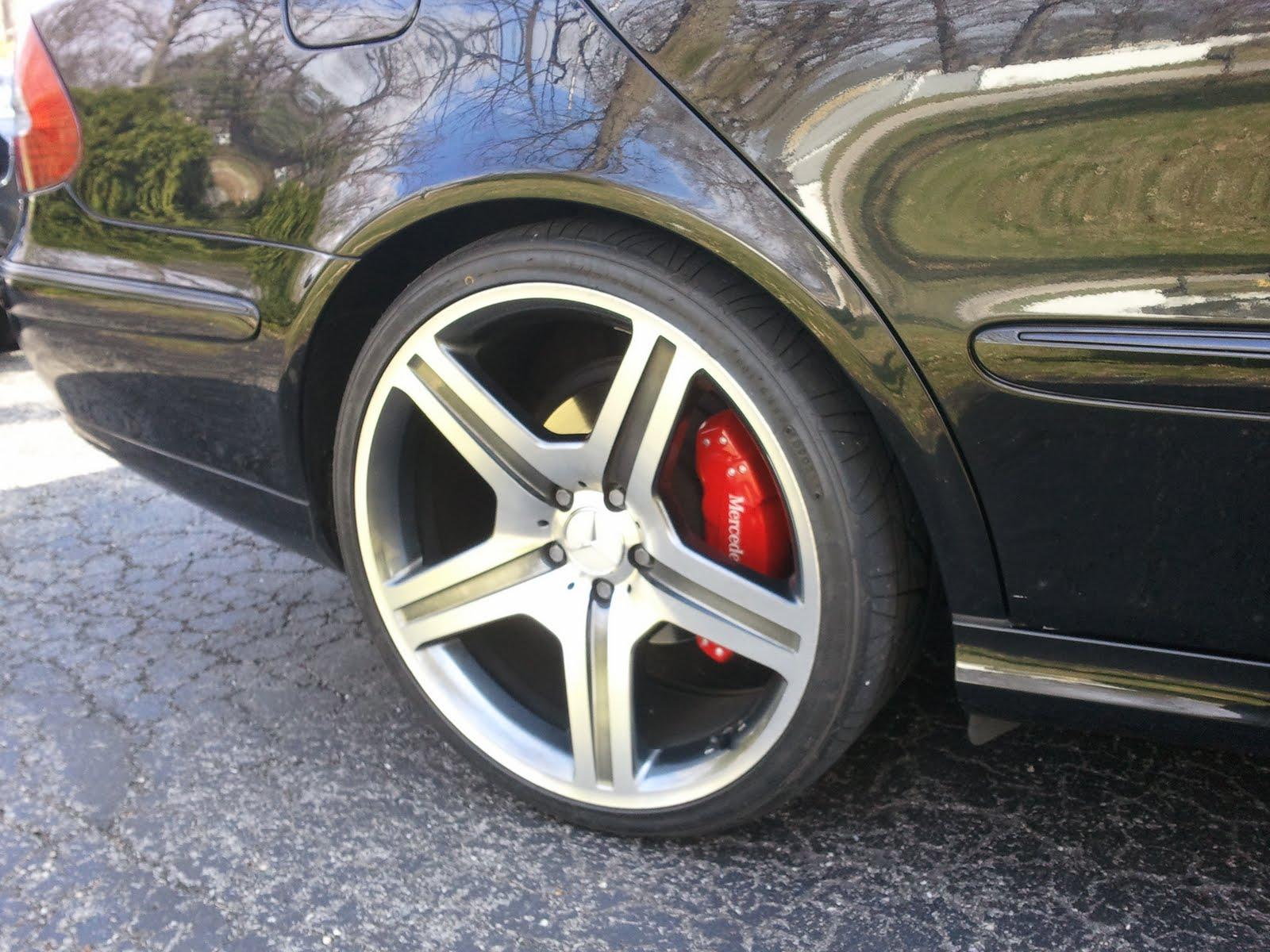 Ravenus Studios Mercedes C Class Brake Caliper Covers