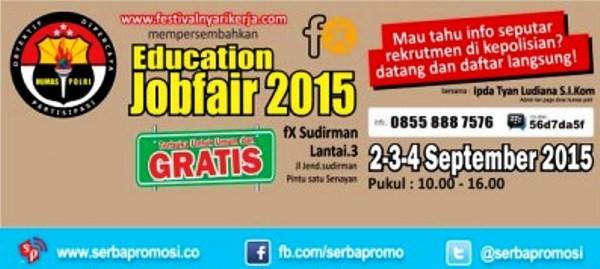 Education Job Fair Jakarta Terbaru September 2015
