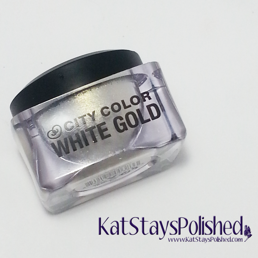 April 2014 Ipsy Bag - City Color Mousse Eye Shadow - White Gold | Kat Stays Polished