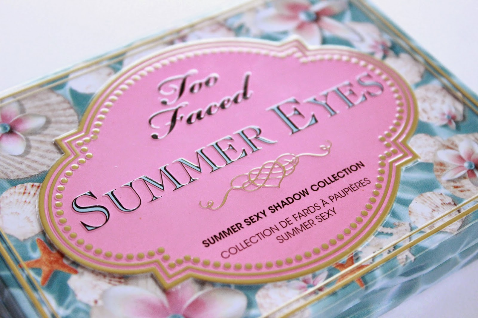 review ervaring swatches too faced summer eyes palette fake