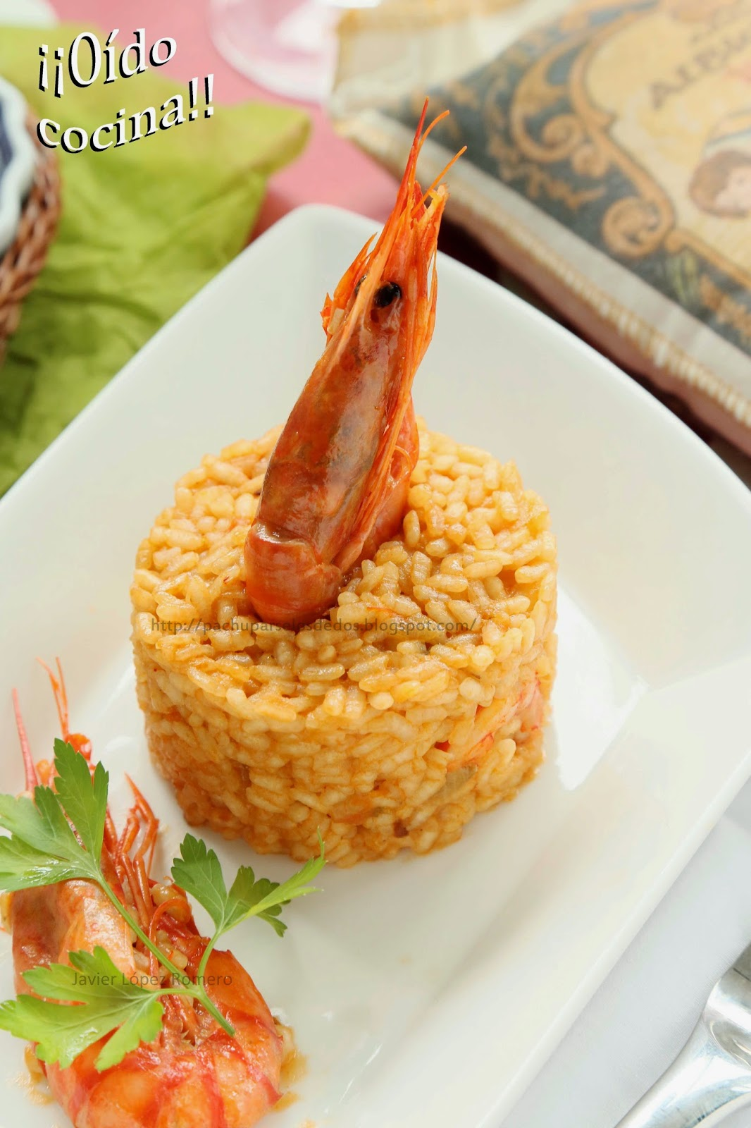O do cocina arroz con gambas de mi madre una receta for Como se cocina el arroz