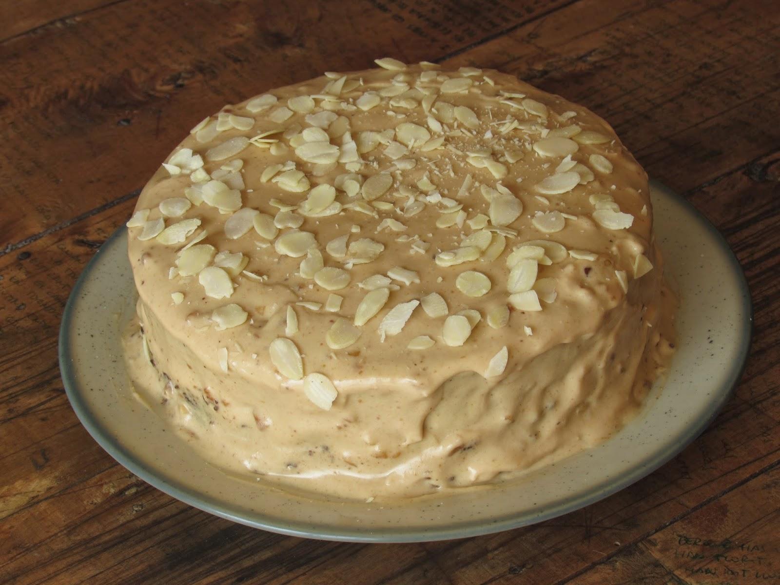 Tarta de chocolate y turrón, receta