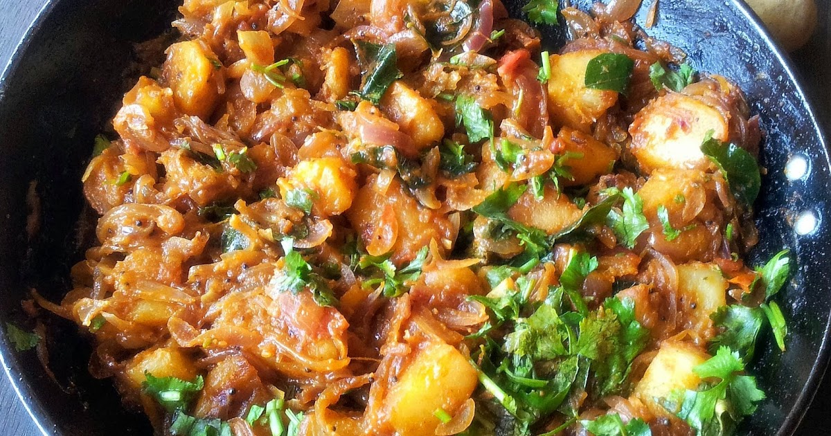 Spiced Potato Bhaaji Recipe — Dishmaps