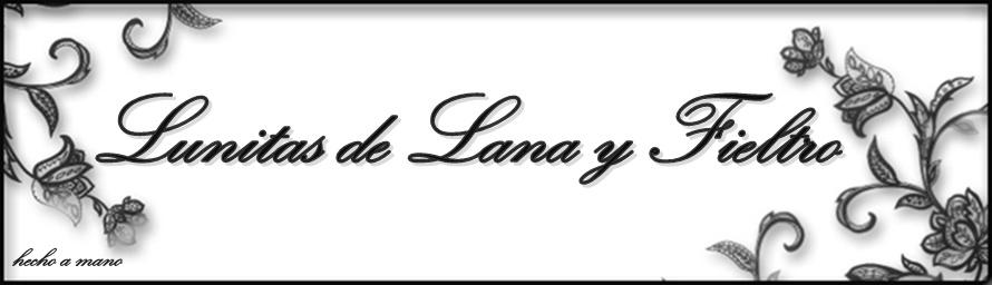 Lunitas de Lana y Fieltro