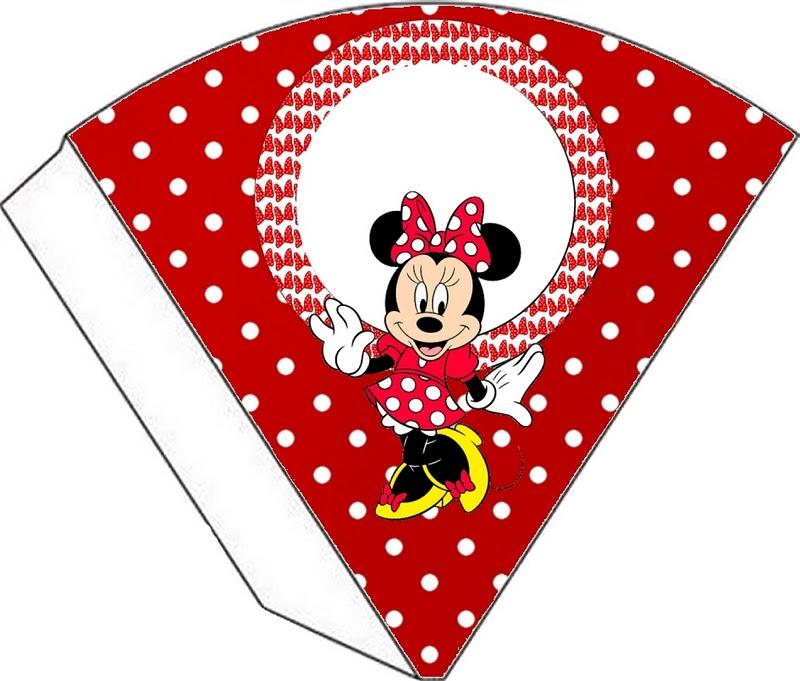 Minnie Mouse en rojo tarjetería para imprimir gratis  Ideas y