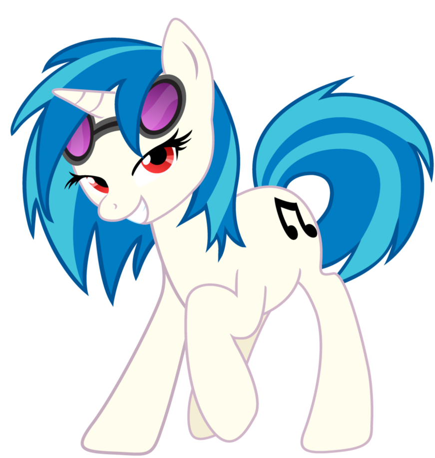 Mlp coloring pages dj pon 3 - Pmv On My Way Love Is In Bloom Pendulum Ponies