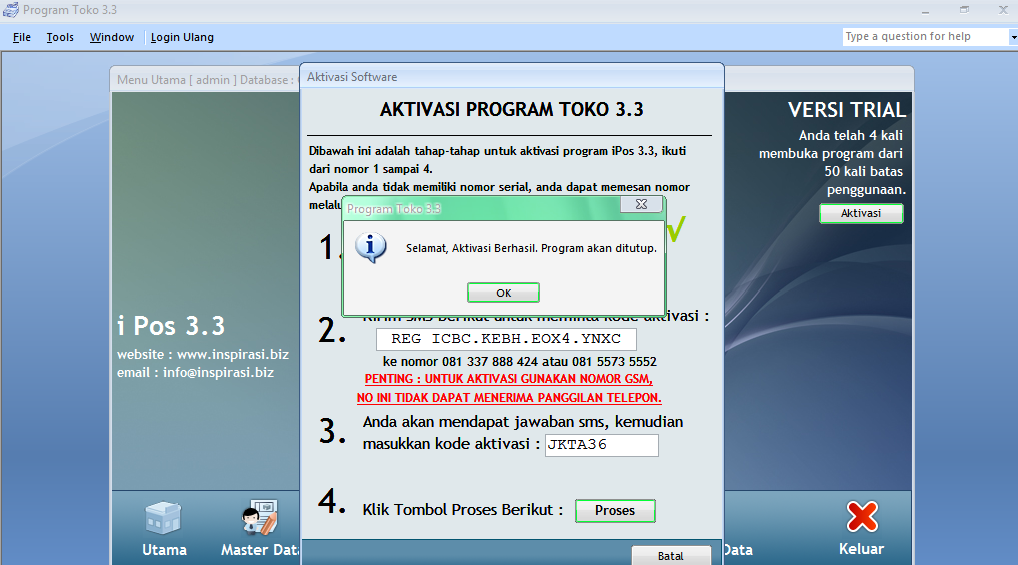 Cara Crack Program Toko 33 And Full Version