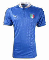 Euro 2012 Italy Home Jersey