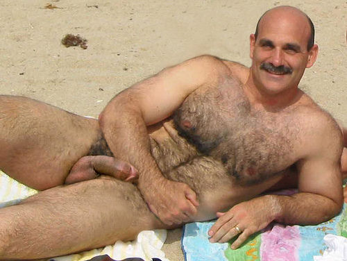 Outdoor Hairy Men