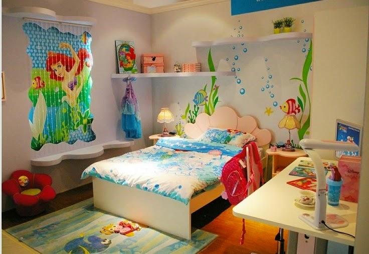 Dormitorios tema Disney - Colores en casa