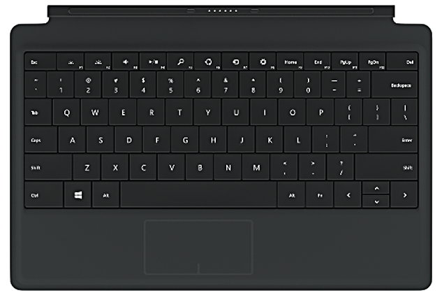 surface pro 2 power cover black color price