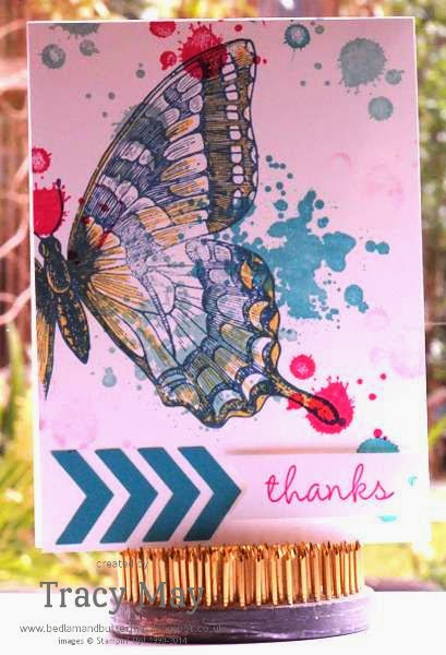 stampin up uk Tracy May Gorgeous Grunge Swallowtail card making ideas
