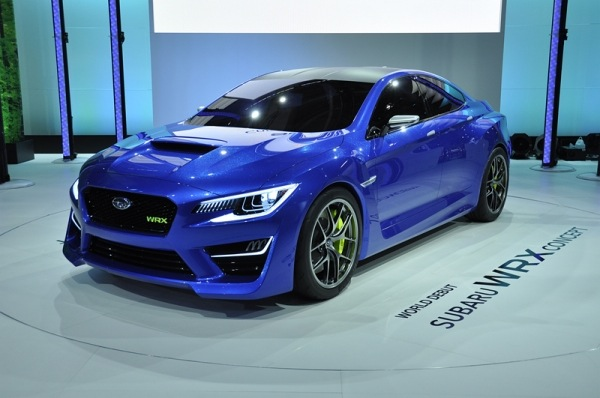 Subaru WRX Concept: The Future Is Bright… and Blue [Video]
