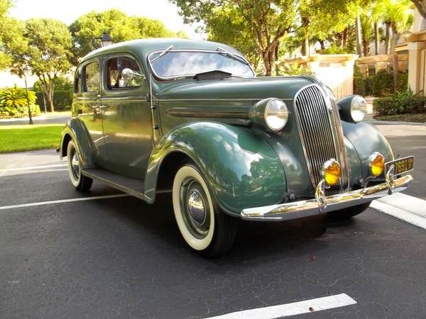 American Classic, 1937 Plymouth P4 DeLuxe Series | Auto Restorationice