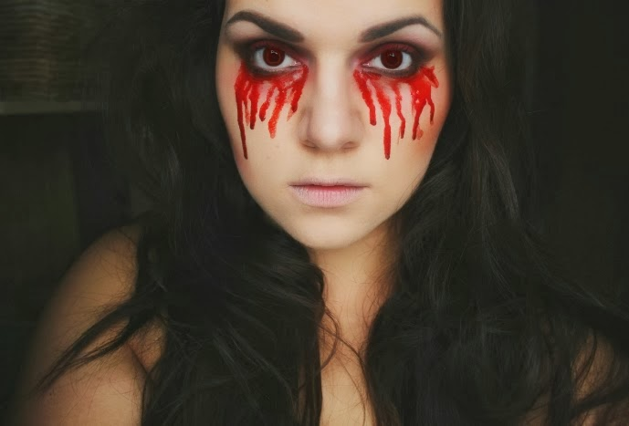 Makeup by Aggie: Halloween Tutorial: Bloody Mary