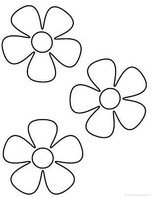 Flower Petal Coloring Pages