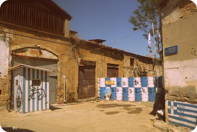Borders, Nicosia, Cyprus