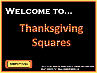 technology tailgate: free thanksgiving hollywood squares game, Powerpoint templates