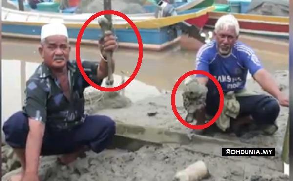 Penduduk Kuala Kedah gempar temui banyak rangka manusia dalam lumpur