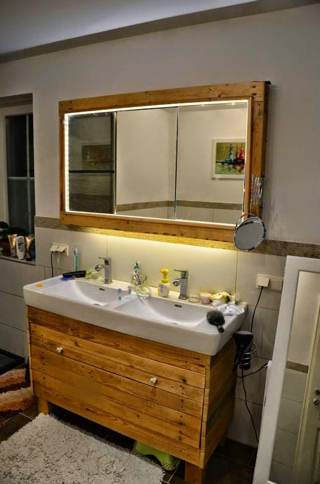 decorar lavabos con pedestal