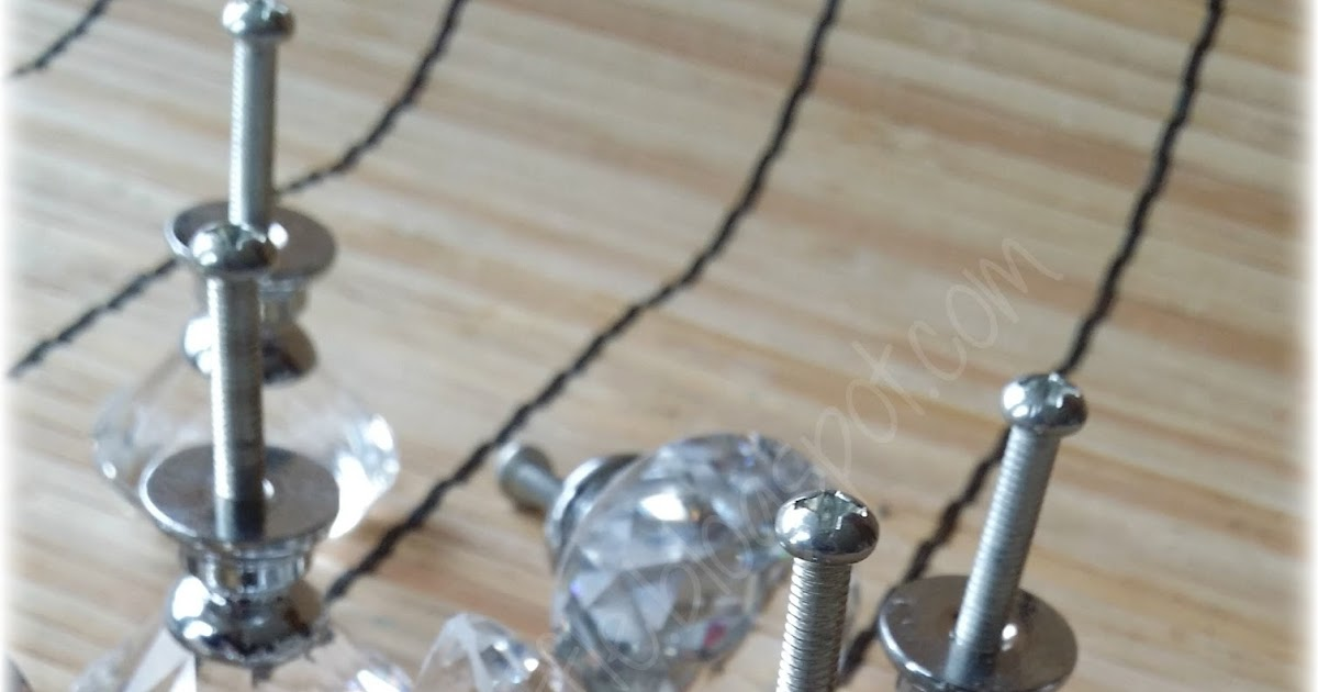 Clear Glass Diamond Bottles