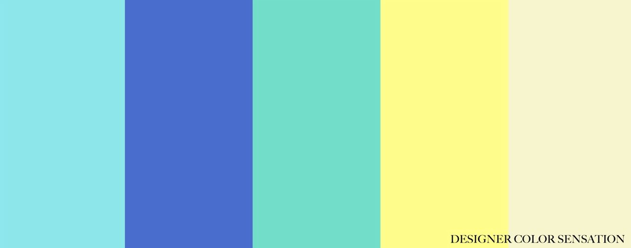 Green Color Schemes Extraordinary With Blue Green and Yellow Color Scheme Photo