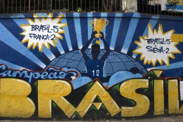 Murales del mundial en Brasil - Sao Paulo
