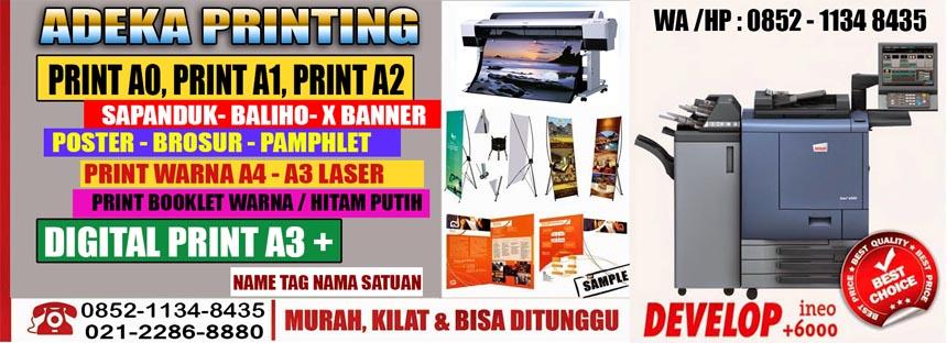 Jasa Cetak Murah dan Print murah Jakarta | Tempat Jasa Percetakan dan Fotocopy Murah Jakarta