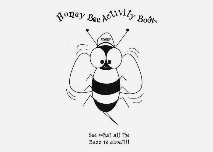 Cartoon Bumble Bee Coloring Page picture
