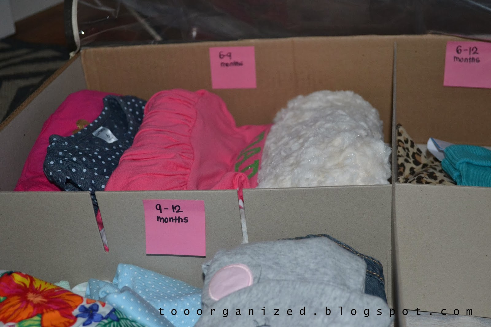 How To Store Baby S New Clothes Too Organized