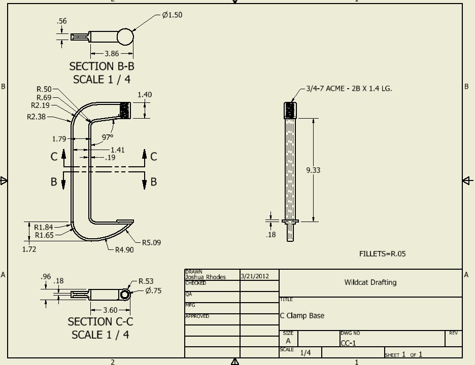 assembly drawings for practice pdf