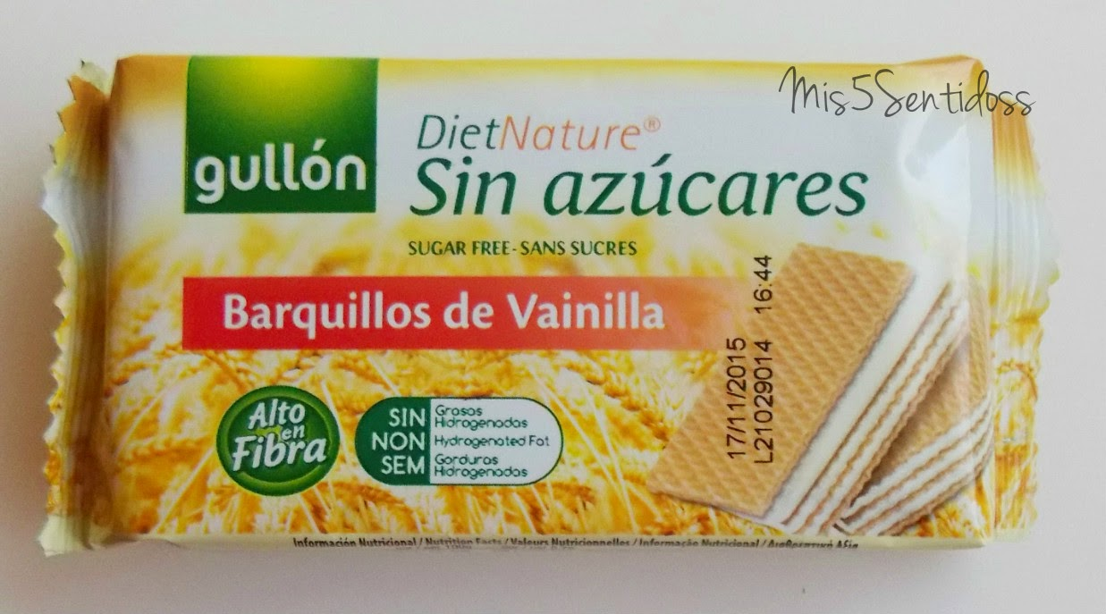 Degustabox Gullón Barquillos de vainilla