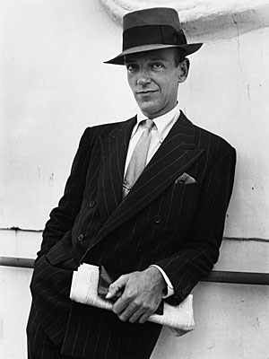 "Fred Astaire, ""People think I was born in"