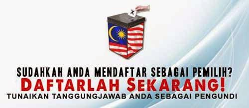 Semakan Daftar Pemilih Suruhanjaya Pilihan Raya SPR Online