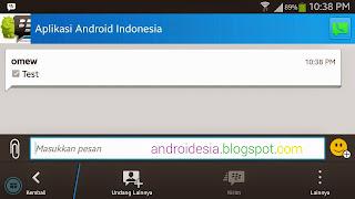 Mode Lanskap BBM Android terbaru