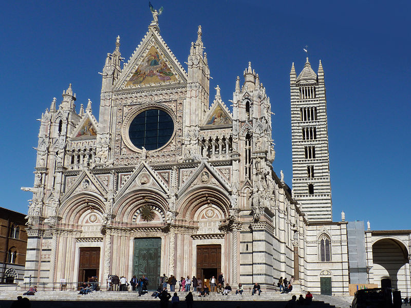 Romanesque Cathedrals Architecture Siena 39 S Cathedral Is A