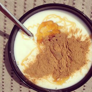 yaourt glacé à la cannelle