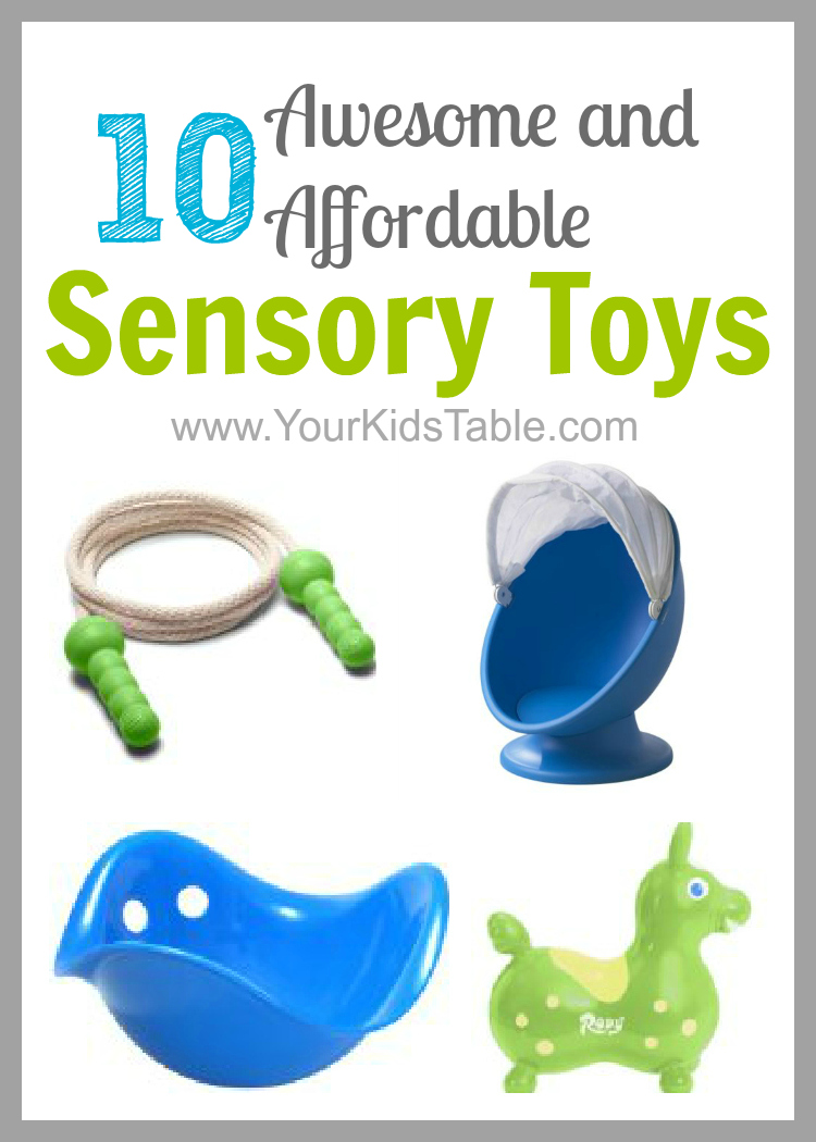 Toys For Sensory : Awesome and affordable sensory toys your kid s table