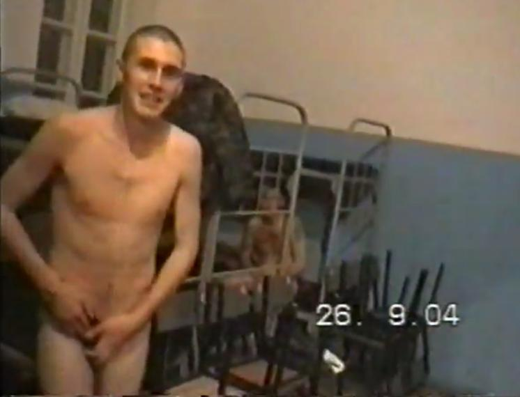 nude russian soldier