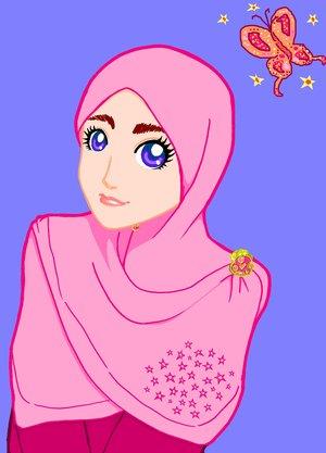 kumpulan gambar kartun islami :