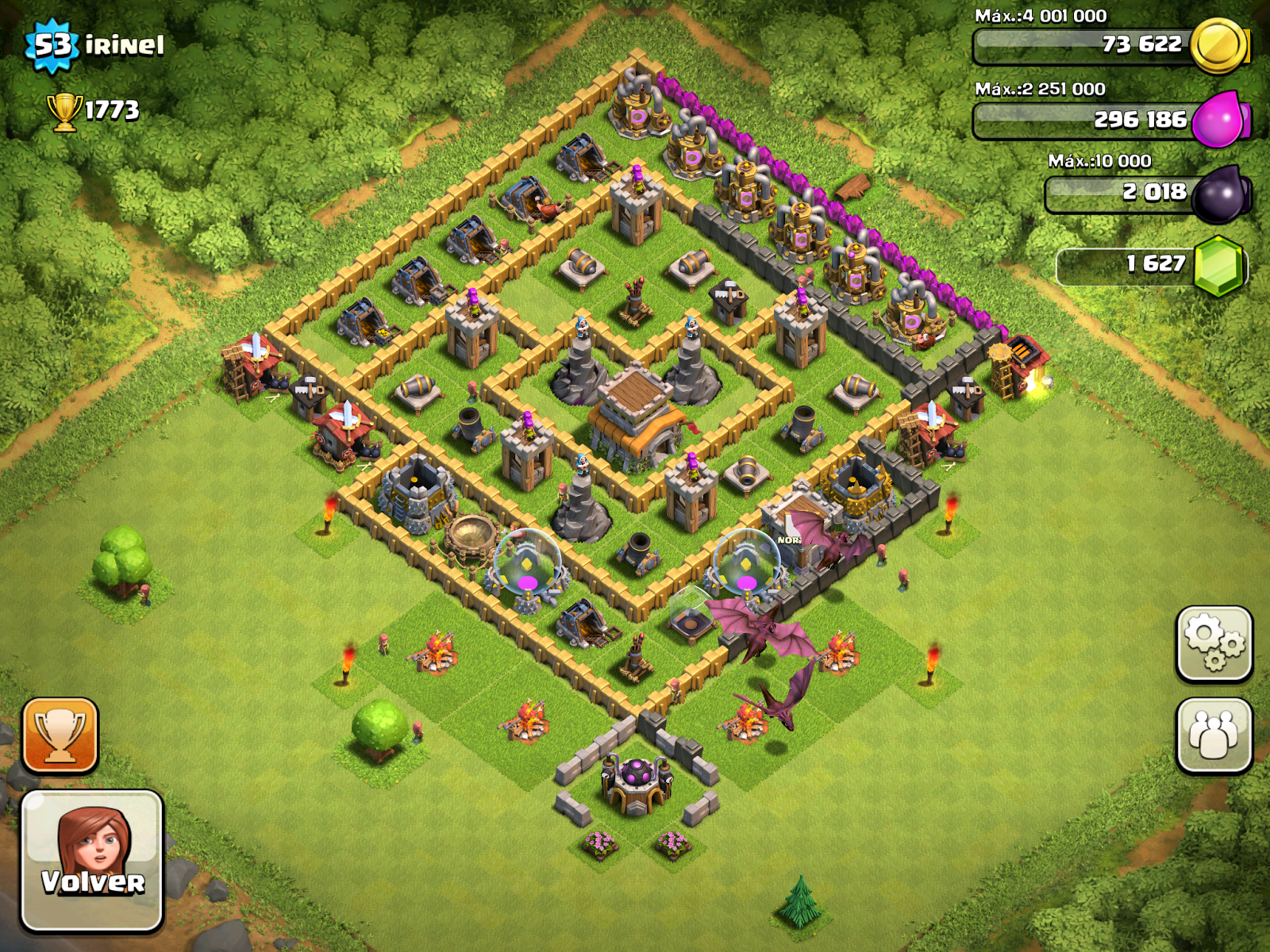 ESPAÑA INMORTAL - Clash of Clans