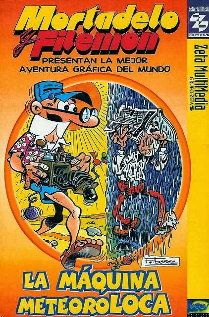 Mortadelo y Filemón: La máquina meteoroloca