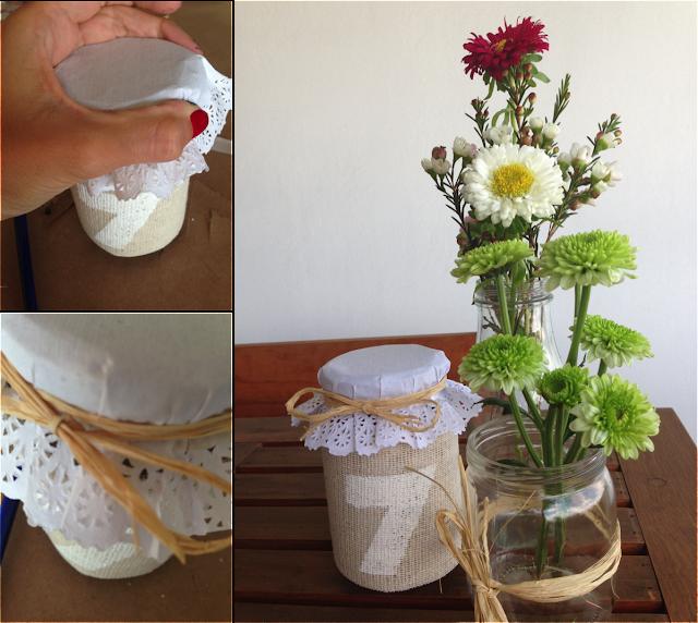 DIY: REciclando tarros de cristal